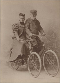 Mr. and Mrs. George Hackney of Topeka