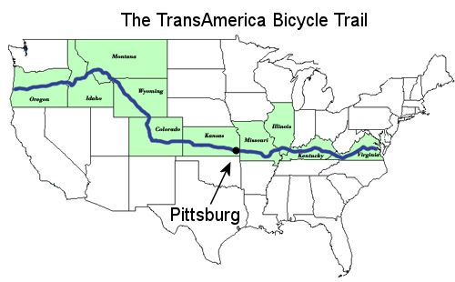 TransAmerica Bicycle Trail