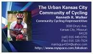 Urban Kansas City Community of Cycling