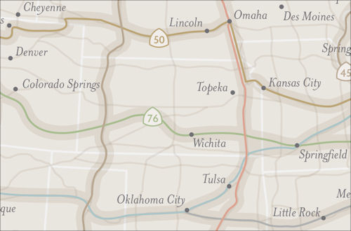 The U.S. Bicycle Route System in Kansas