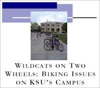 Wildcats On Two Wheels: Biking Issues on KSU's Campus