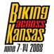 Biking Across Kansas 2008