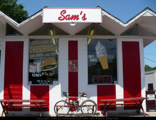 Sam's Tastee Treat - Sam's Tastee Treat is located in Olathe, KS. It's an old-style ice cream and burger joint that's been open since 1963.