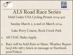 ALS Road Race Series