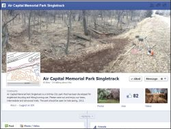 Air Capital Memorial Park Singletrack