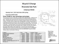Bicycle X-Change Criterium Race