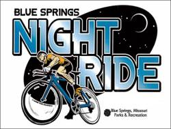 Blue Springs Glowing Night Ride