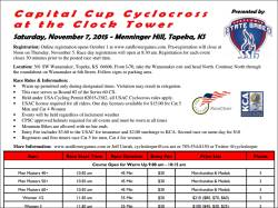Capital Cup Cyclocross at the Clock Tower