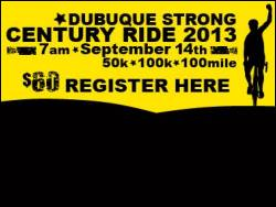 Dubuque Strong Century Ride