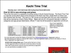 Kechi Time Trial