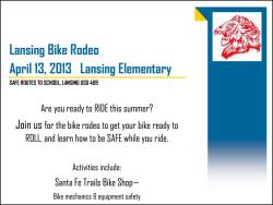 Lansing Bike Rodeo