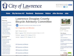 Lawrence Bicycle Advisory Committee