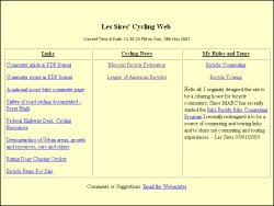 Les Sires' Cycling Web