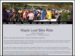 Maple Leaf Bicycle Tour