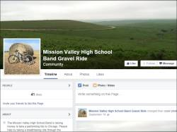 Mission Valley High School Band Gravel Ride