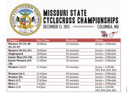 Missouri State Cyclocross Championships