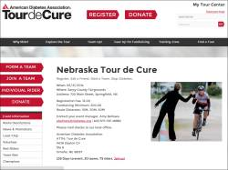 Nebraska Tour De Cure