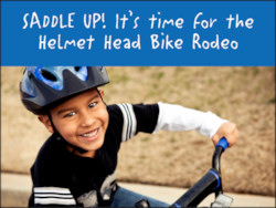 Olathe Helmet Head Bike Rodeo
