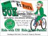 Pedaling for St Pat's