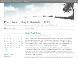 Pryor Area Cycling Enthusiasts (PACE)
