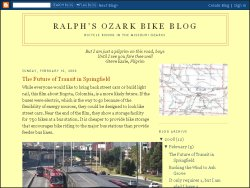 Ralph's Ozark Bike Blog