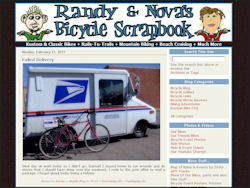 Randy & Nova's Bicycle Scrapbook