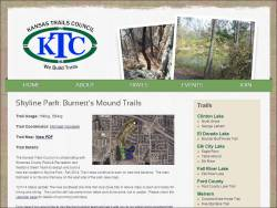 Skyline Park: Burnett's Mound Trails