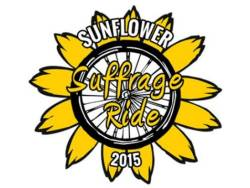 Sunflower Suffrage Ride - South East Kansas