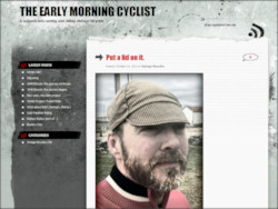The Early Morning Cyclist