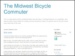 The Midwest Bicycle Commuter
