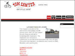 Tom Sawyer Bicycle Shop