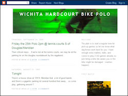 Wichita Hardcourt Bike Polo