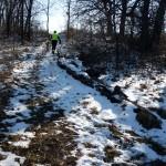 Snowy Hike-a-Bike