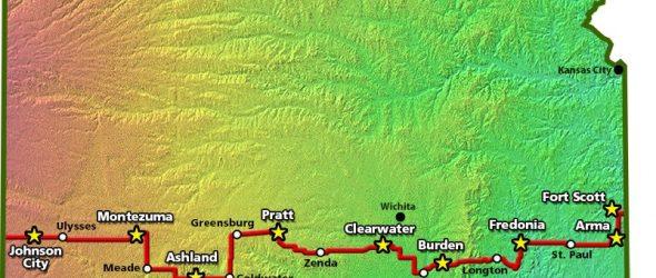 Biking Across Kansas 2018 Route Announced