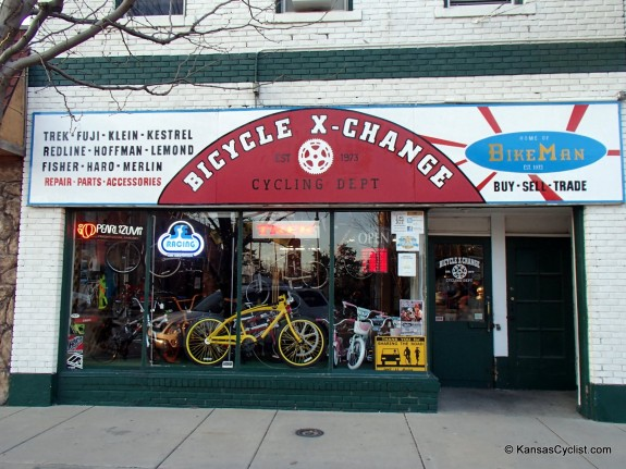 Bicycle X-Change - Entrance