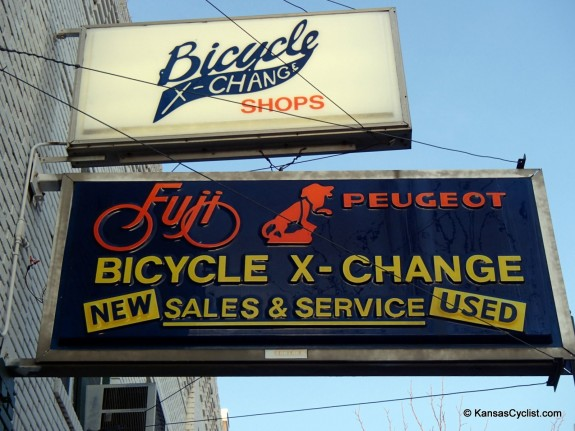 Bicycle X-Change - Sign