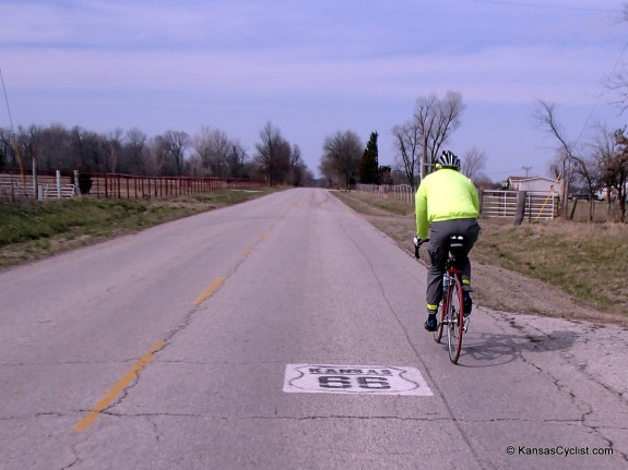Bicycling Route 66 2-Lane