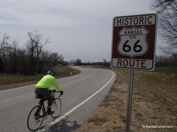 Bicycling Route 66