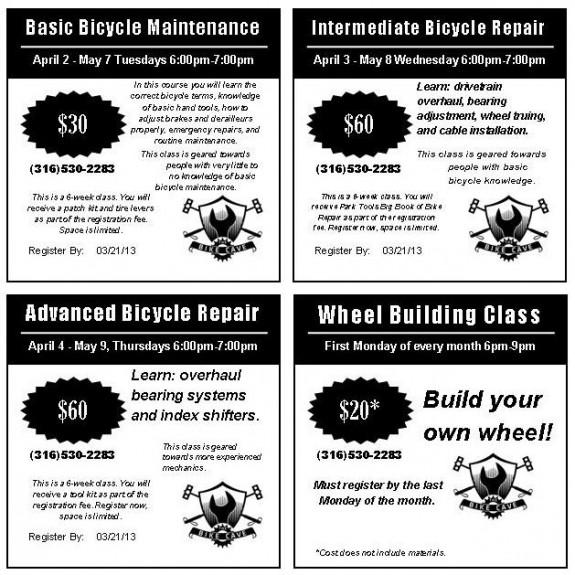 Bike Cave Classes 2013
