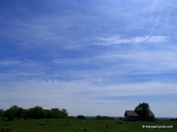 Blue Skies and Wispy Clouds