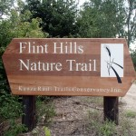 Flint Hills Nature Trail Sign