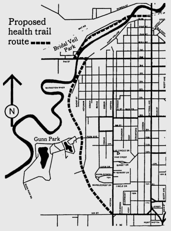 Fort Scott Bikeway Map
