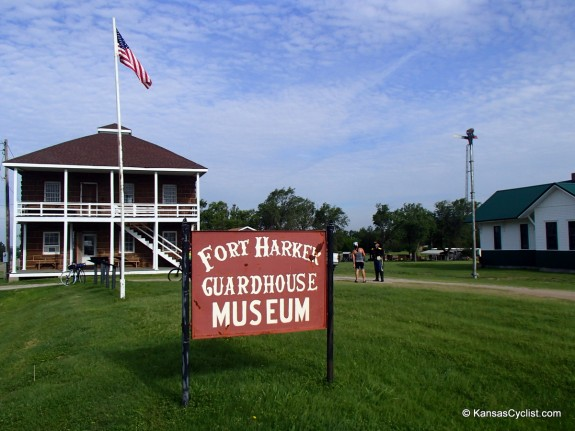 Fort Harker Museum in Kanopolis, a fun place to learn about one of Kansas's early forts