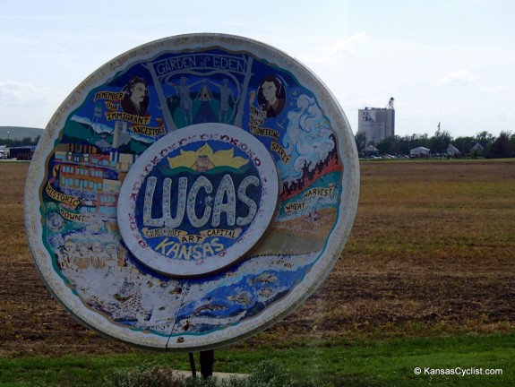 Lucas Kansas is the grassroots art capital of Kansas, lot's to see in this little town!