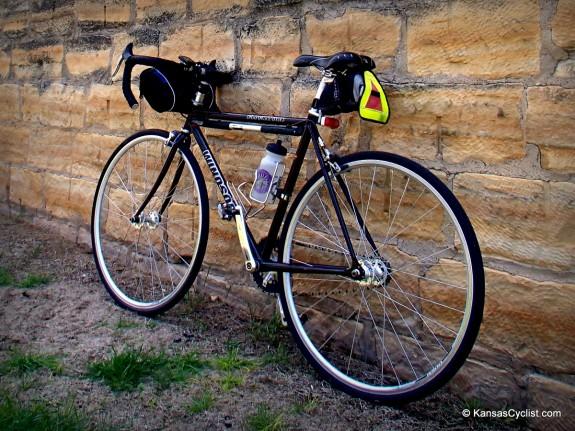 My bike for the Kandango tour was a Windsor Clockwork single-speed.