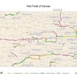 Kansas Rails-to-Trails Map 2016