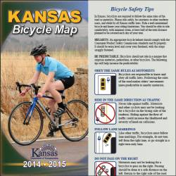 2014-2015 Kansas Bicycle Map
