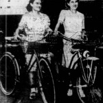 Miss Emma Franklin, 22 and her sister, Miss Laura Franklin, 29, of Burns, Kansas
