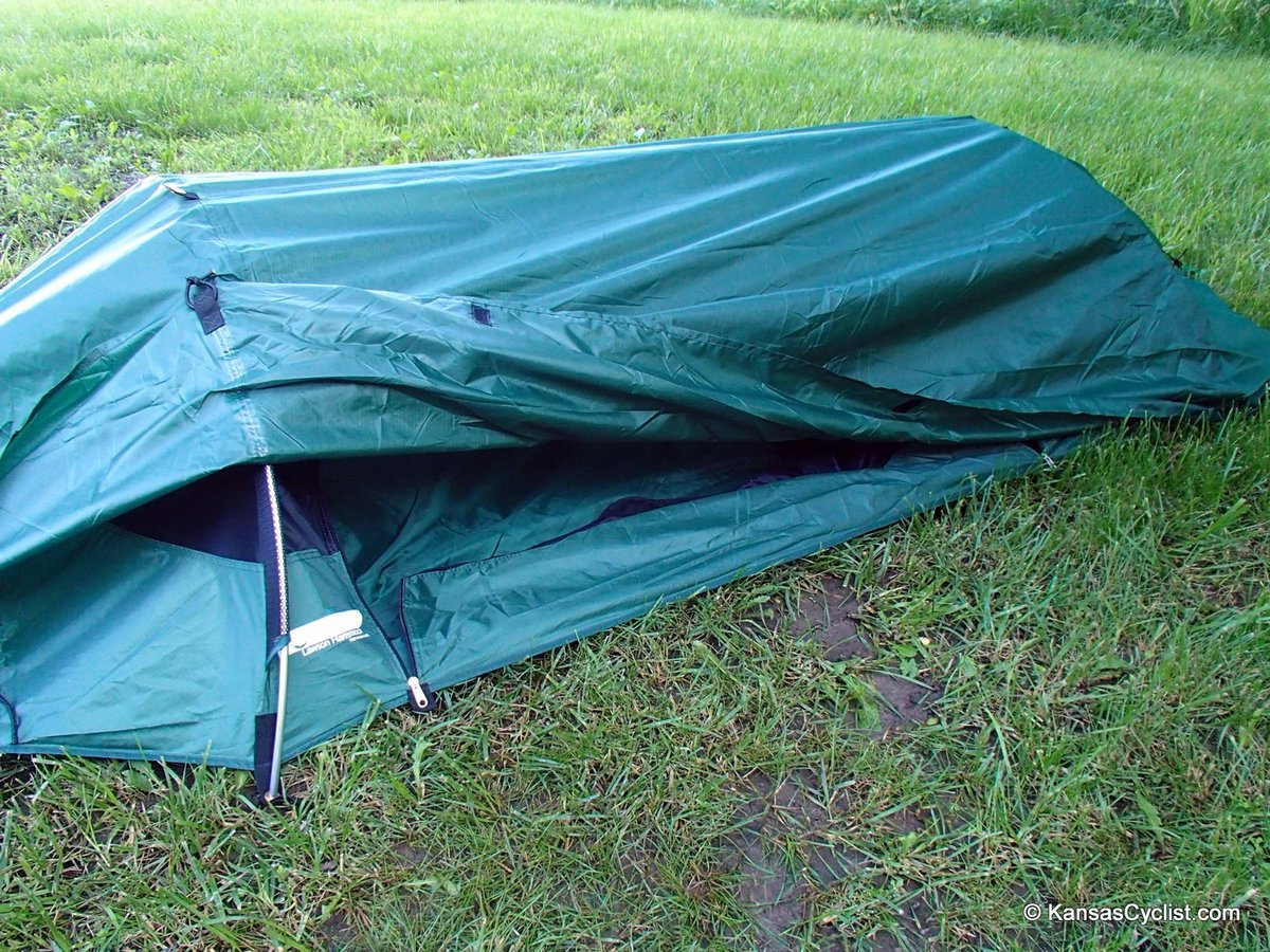 lawsonhammock bivymodecovered blue ridge camping hammock review   kansas cyclist news  rh   kansascyclist