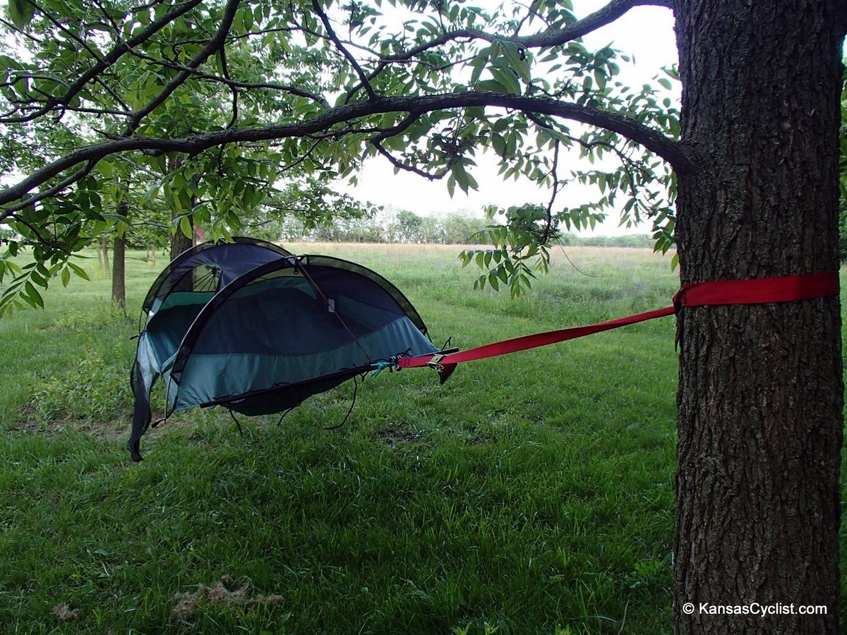 lawsonhammock strapshang blue ridge camping hammock review   kansas cyclist news  rh   kansascyclist